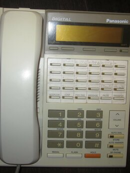 Проводные телефоны - Системный телефон Panasonic KX-T7230RU, 0