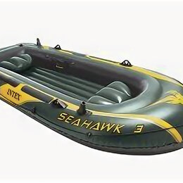 Надувные, разборные и гребные суда - Надувная лодка SEAHAWK-300 SET трёхместная, 0