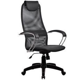 Компьютерные кресла - Кресло руководителя с пластиковыми пятилучиями…, 0