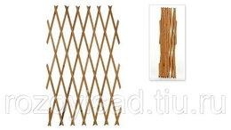 Заборчики, сетки и бордюрные ленты - Шпалера -гармошка из дерева раздвижная большая, 0