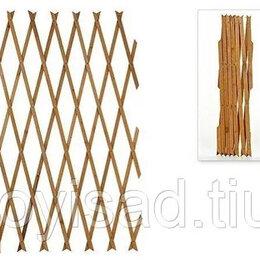 Шпалеры, опоры и держатели для растений - Шпалера -гармошка из дерева раздвижная большая, 0
