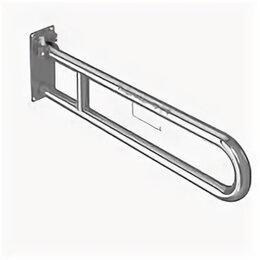 Держатели и крючки - Поручень для унитаза, откидной,крепление пластина, 0
