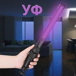 Переносные светильники - Ультрафиолетовая лампа светодиодная аккумуляторная магнитная, 0