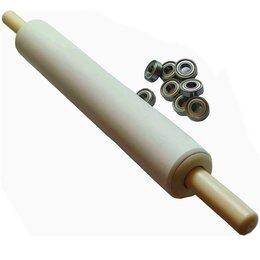 Скалки - скалка для пахлавы 30-7,5см с подшипниками, 0