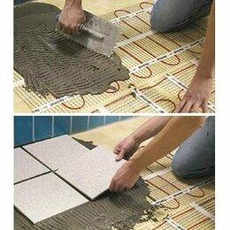Электрический теплый пол и терморегуляторы - Нагревательный мат электрический для теплого пола под плитку на 1 кв. метр, 0