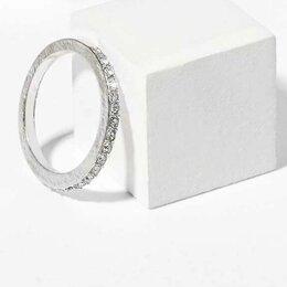 Кольца и перстни - Кольцо с хрусталиками новое, 0