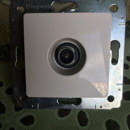 Электроустановочные изделия - Антенное гнездо, 0