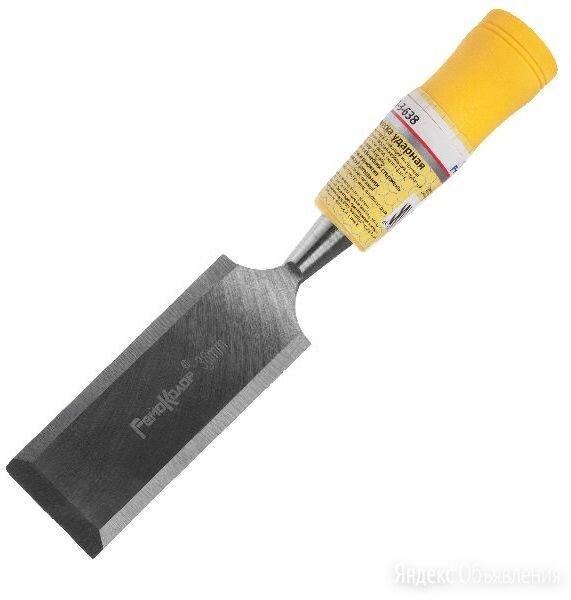 Стамеска ударная RemoColor 38 мм цельнометаллический стержень по цене 238₽ - Стамески, фото 0