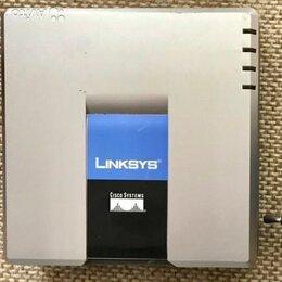 VoIP-оборудование - Телефонный адаптер роутер CISCO LINKS SPA 2102, 0