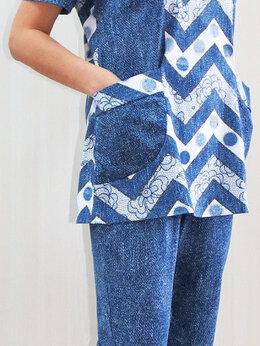 Домашняя одежда - Костюмы с бриджами (разные). Новые, 0