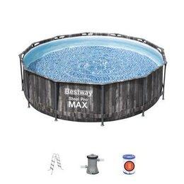 Бассейны - 5614X Bestway Каркасный бассейн Steel Pro Max…, 0