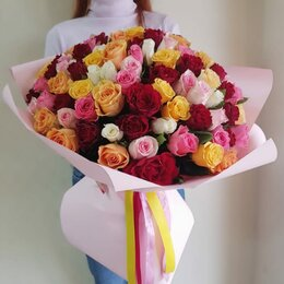 Цветы, букеты, композиции - 101 роза. Букет №93, 0