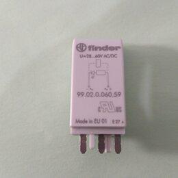 Сигнализация - Модуль сигнализации FINDER 99.02.0.060.59 Зел. LED, 0