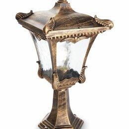 Уличное освещение - Светильник садово-парковый, 100W 230V E27 черное золото, 2003M, 0