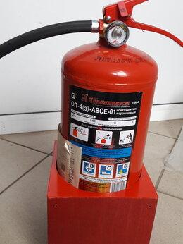 Противопожарное оборудование - огнетушитель, 0