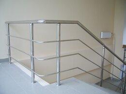 Лестницы и элементы лестниц - Перила из нержавеющей стали в Лобне Долгопрудный, 0