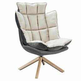 Кресла - Кресло мягкое вращающееся бежевое ESF, 0