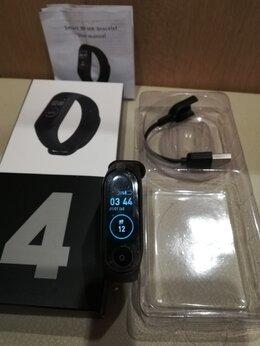 Умные часы и браслеты - Mi band 4 Фитнес браслет - часы, 0