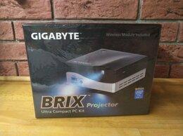 Настольные компьютеры - Мини пк Gigabyte Brix i3-4010U с DLP проектором, 0
