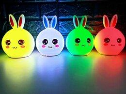 Ночники и декоративные светильники - Ночник CUTE PEX RABBIT SILICONE LAMP, 0