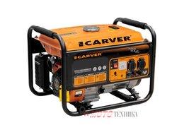 Электрогенераторы - Генератор бензиновый Carver PPG-2500, 0