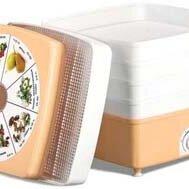 Сушилки для овощей, фруктов, грибов - Сушилка для фруктов овощей, грибов, ягод и семечек Ротор, объем 17 литров, 0