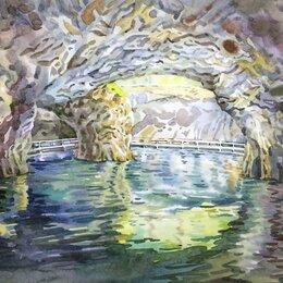 """Картины, постеры, гобелены, панно - Картина """"Мраморная пещера"""", 0"""