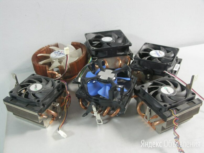 Вентилятор для процессора [AMD] (Cu+Al) тепловые т по цене 600₽ - Кулеры и системы охлаждения, фото 0
