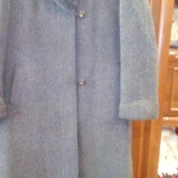 Пальто - ,пальто женское, с воротником-песец, размер 50-52,цена1000руб., 0