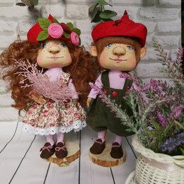 Рукоделие, поделки и сопутствующие товары - Текстильные куклы Эльфы #1, 0