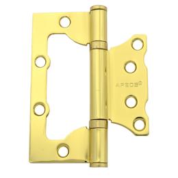 Петли дверные - Петля накладная Apecs 100х75х2,5-B2-Steel-G,…, 0