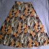 Длинная летняя юбка с цветочным рисунком, р.42-46 по цене 500₽ - Юбки, фото 2