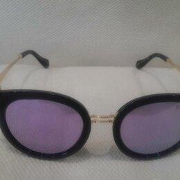 Очки и аксессуары - Модельные поляризованные очки Dior арт.6051 фиолет, 0