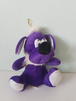 Мягкие игрушки - Мягкая игрушка фиолетовая Собака, 0