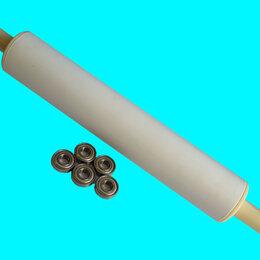 Скалки - Скалка для теста из пластика на подшипниках., 0