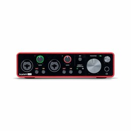 Оборудование для звукозаписывающих студий - FOCUSRITE Scarlett 2i2 3rd Gen USB аудиоинтерфейс, 0