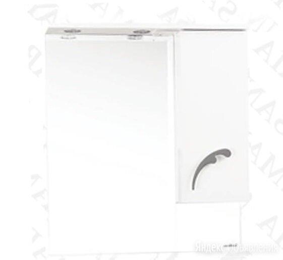 Зеркало-шкаф SanMaria Элит-70 белый, правый по цене 7700₽ - Зеркала, фото 0