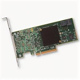 Аксессуары для серверов - Контроллер RAID Broadcom 9341-4i 05-26105-00 LSI00419, 0