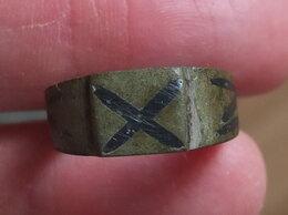 Военные вещи - перстень военно-морской, бронза, царская Россия, 0