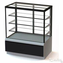 Холодильные витрины - Витрина кондитерская Carboma вхсв-1,3д Cube Люкс (Полюс), 0
