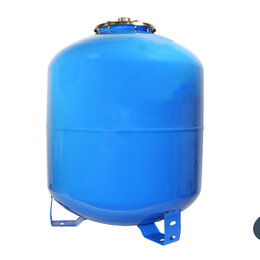 Баки - Гидроаккумулятор UNIPUMP 50 л вертикальный (фланец - нерж. сталь), 0