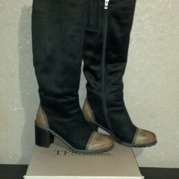 Сапоги - высококачественные,модные ,красивые сапоги зима 39р,Италия,, 0