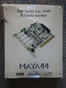 Звуковые карты - Звуковые карты ESI maya44 PCI и Audigy SB0090, 0