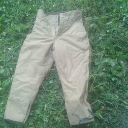 Одежда и аксессуары - Тёплые рабочие штаны, 0