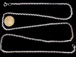 Цепи - Серебряная цепь якорная.Вес 12,2 грамма,длина 68…, 0