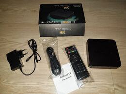 ТВ-приставки и медиаплееры - Андроид тв приставка Wi-Fi , 0