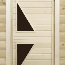 Двери - Дверь банная Тип7 1800*700 (остекл.), 0