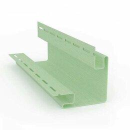 Сайдинг - SV-12 наружный угол Светло-зеленый 3,05м/5шт, 0