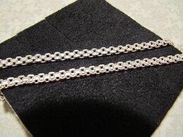 Цепи - Серебряная цепочка плетения бисмарк, 0