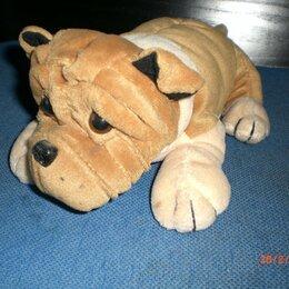 Мягкие игрушки - Мягкая игрушка собака шарпей, 0
